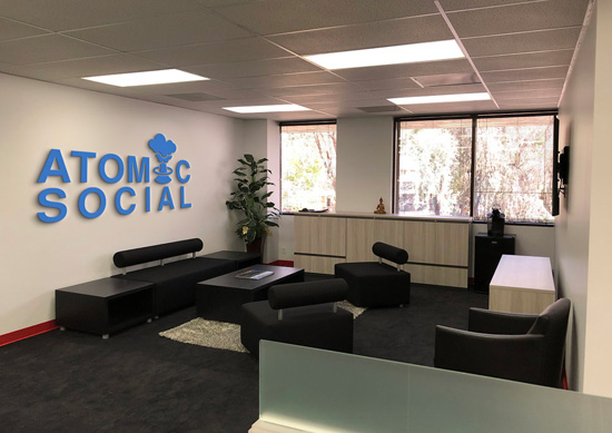 An Inside Look At The Atomic Social Head Quarters